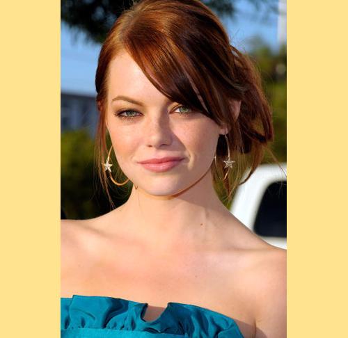 H. I give you Emma Stone.