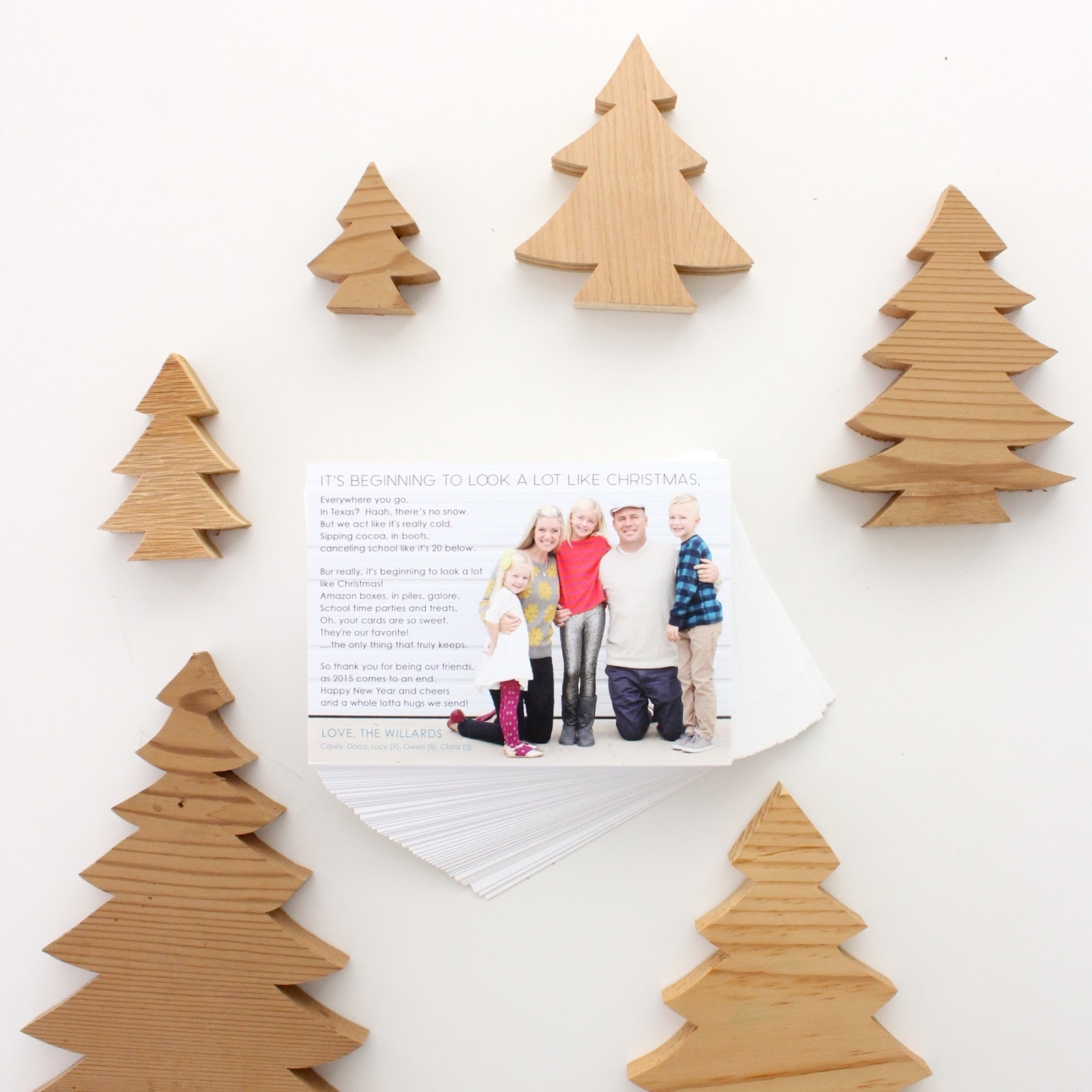 a Merry 2015 Christmas Card, from our family to yours – MADE EVERYDAY
