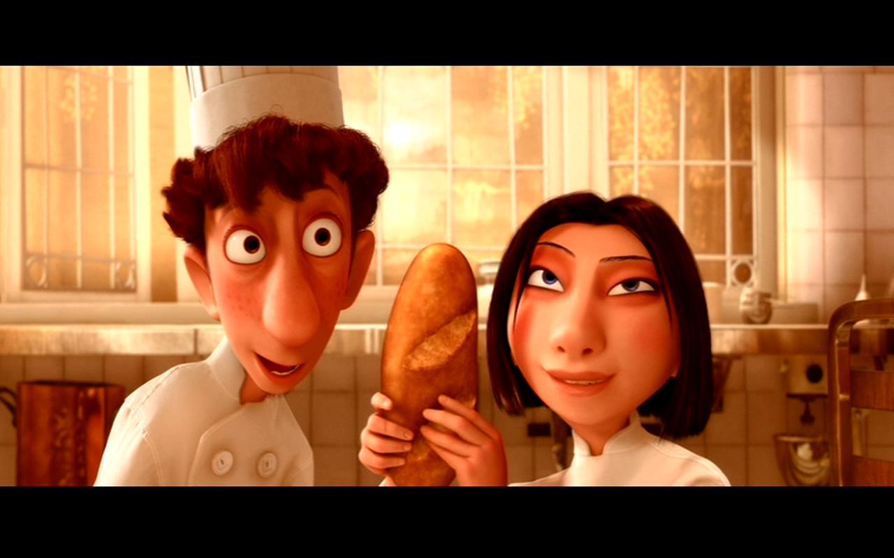 Linguini y colette esperan que los dem s clientes salgan - Film para cocinar ...