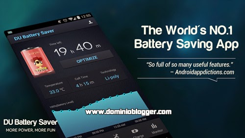 Protege tu Smartphone con DU Battery Saver and Widgets