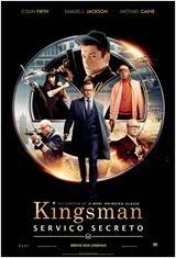 "Poster do filme ""Kingsman: Serviço Secreto"""