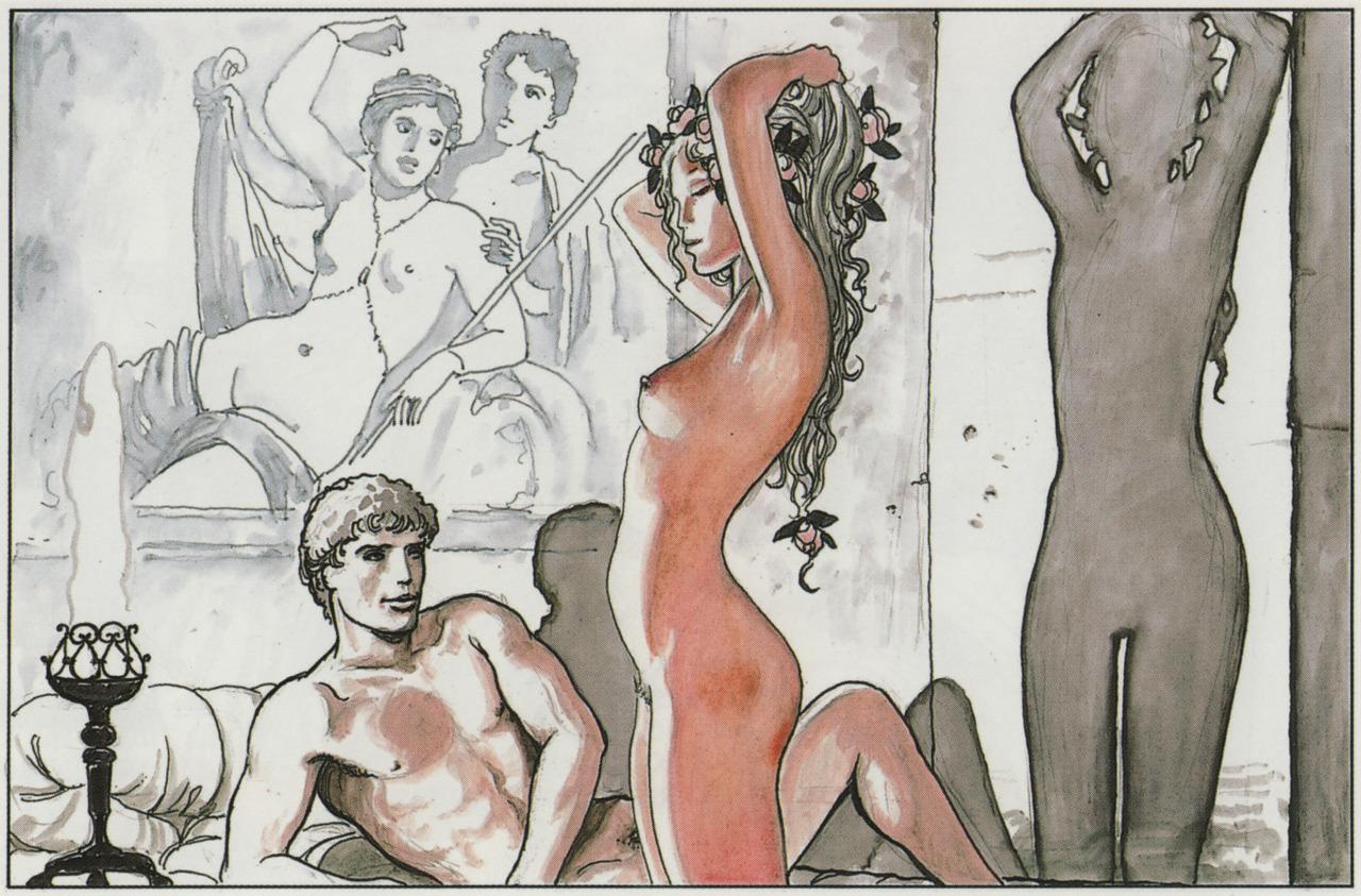 Эротические комиксы художников 24 фотография