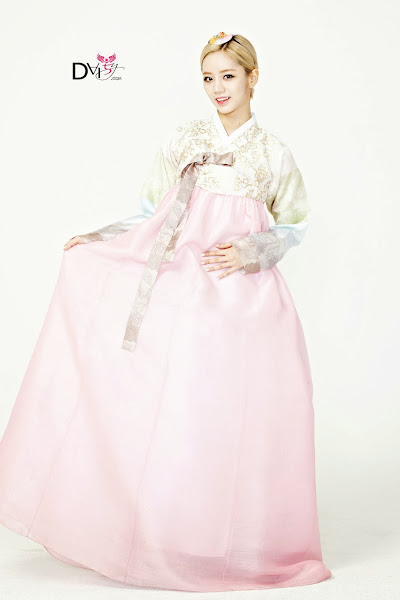 Girls Day Hyeri Lunar 2014 Hanbok