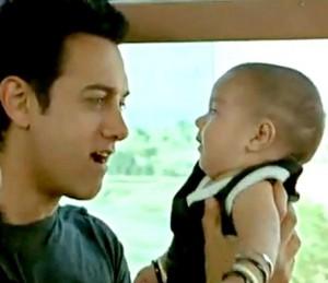 Amir Khan with his son aazad