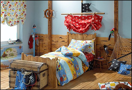 Boys Pirate Bedroom Ideas