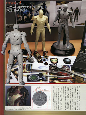 Hot Toys Iron Man 3 - Diecast - Iron Man Mark Mk 42 - Prototype Pics