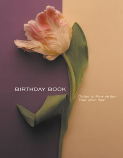 Flower Portraits Birthday Book