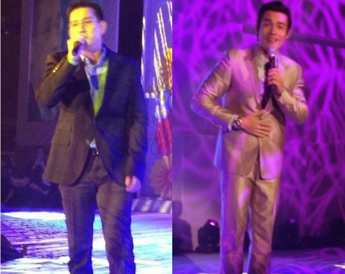 Xian Lim and Richard Yap serenade the ladies of Avon