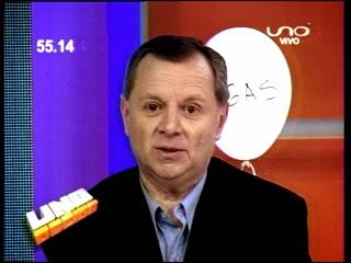 José Alberto Gringo Gonzáles en Uno Decide
