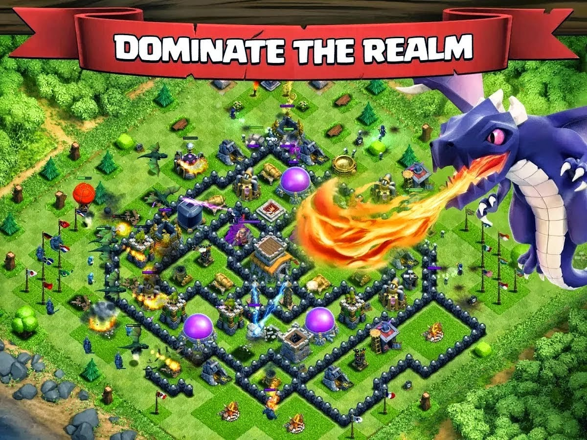 Game Clasf of Clans Plus MOD