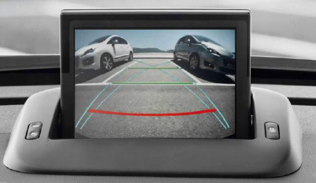 Novo Peugeot 308 2016 - câmera de ré