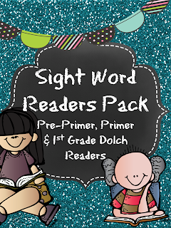 http://www.teacherspayteachers.com/Product/Sight-Word-Readers-Pack-Dolch-prek-1st-953507