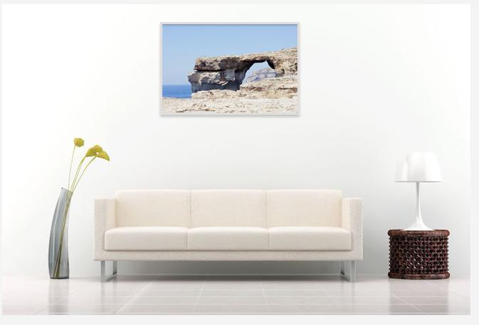 Travel picture,interior decor with print photo,Malta