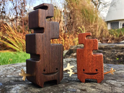 ZARO Wood Sprites Wood Figures by Pepe Hiller