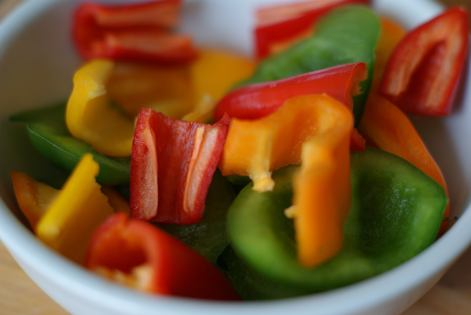 have a new obsession with bell peppers. Sweet peppers are full of ...