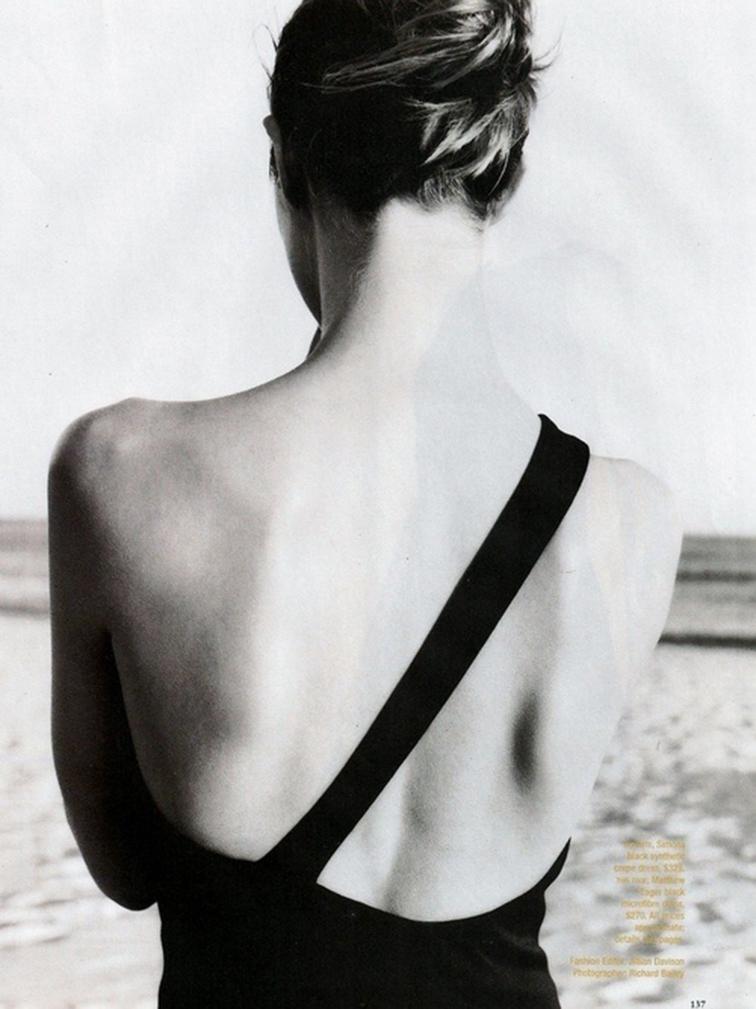 One strap cross back swimsuit