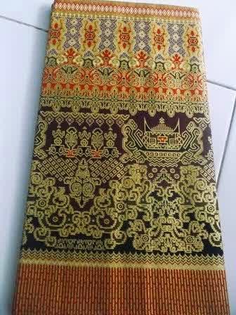 kain batik prada palembang