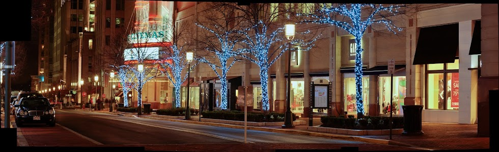 Reston Town Center at Christmas