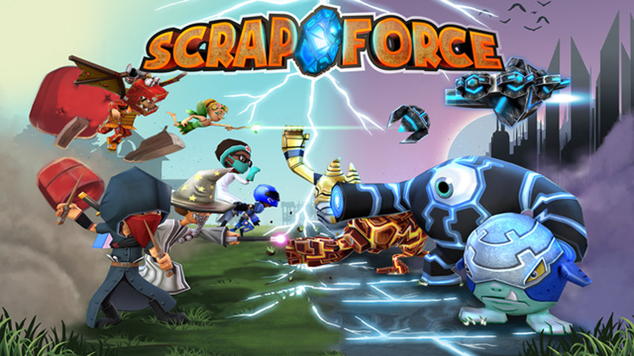 Scrap Force Gameplay IOS / Android