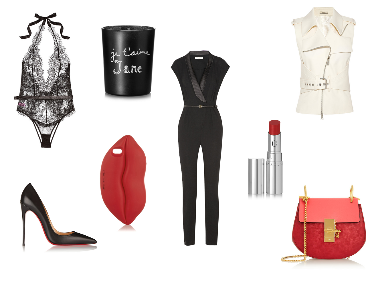 valentine's day, wishlist,halston, louboutin, stella mccartney, chloé, bouchra jarrar, bella freud, fashion blogger