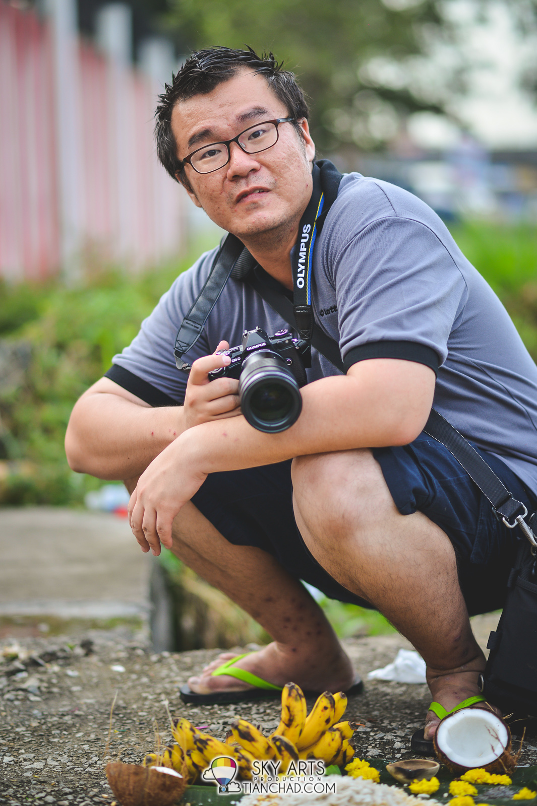 Robin Wong with his Olympus OMD Em-5 Mark 2