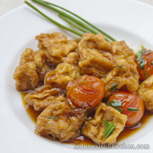 Tofu Kecap rezept indonesisch kochen