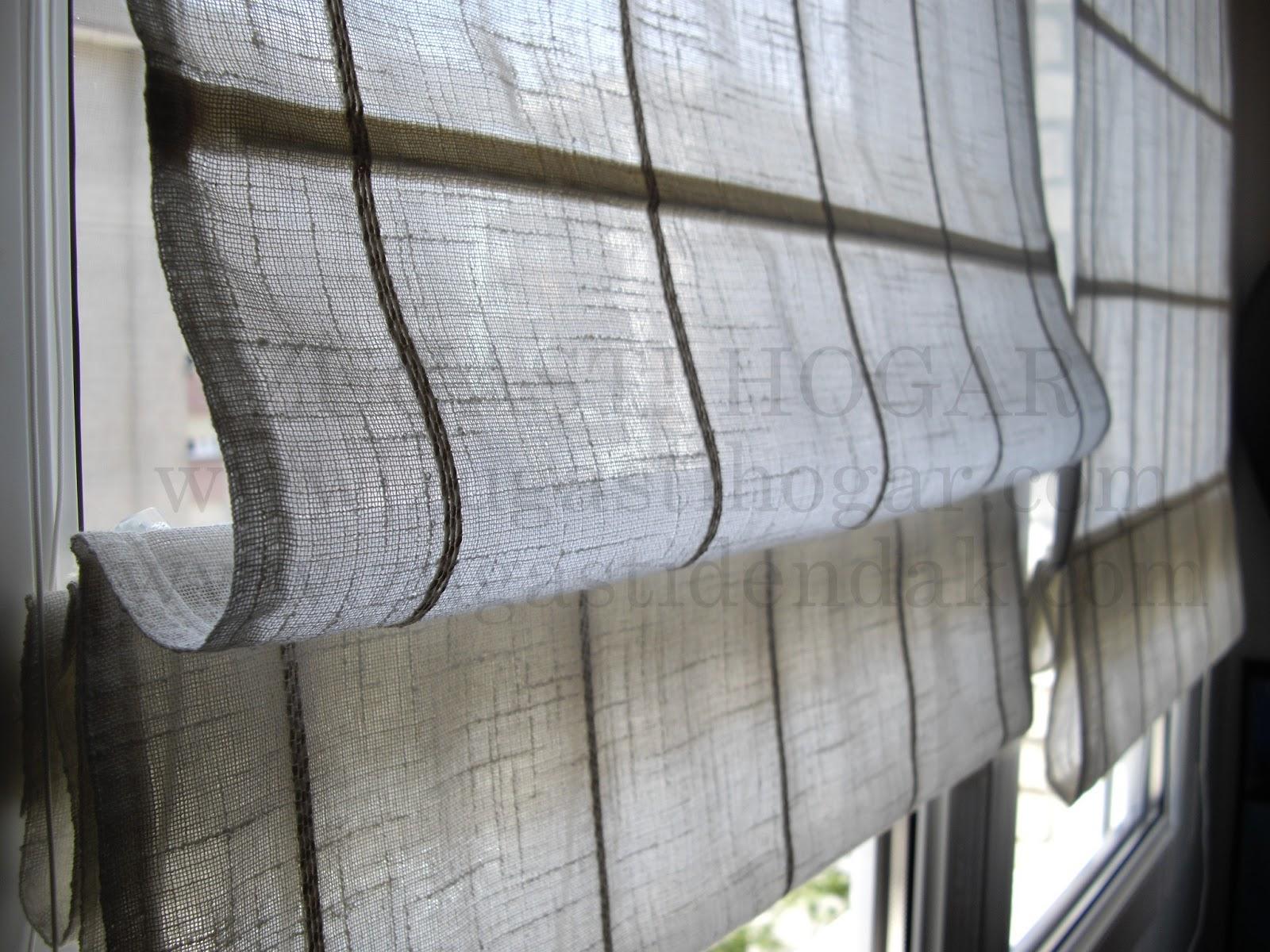 Zugasti Decoraci N Textil Del Hogar Diferencias Entre Estor  ~ Como Hacer Estores Sin Varillas