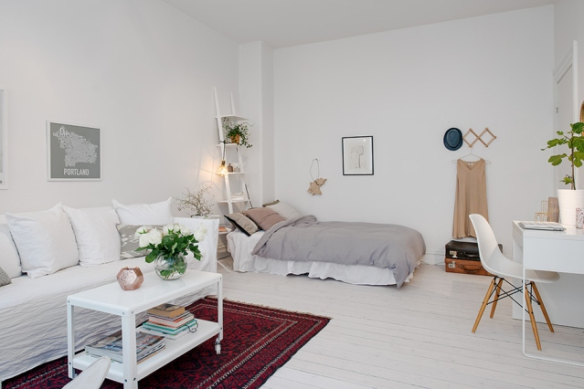 small apartment nordic style