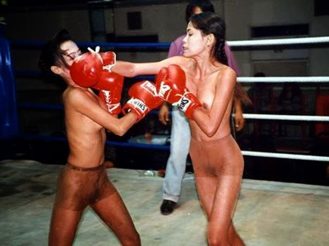 Was hoping nude boxing video