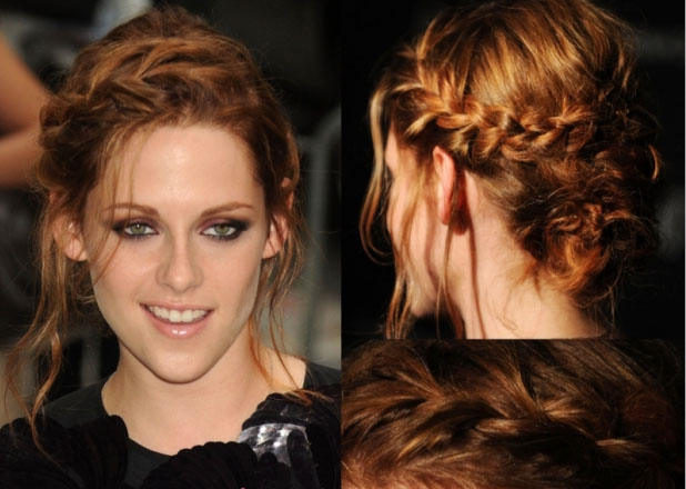 short hair style of 2012: Christmas holiday hairstyles for long hair