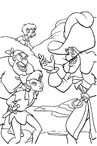 disney coloring pages peter pan - photo#9