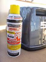 broken outboard motor PB balaster