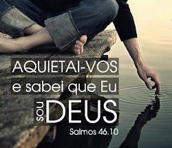 deixe Deus ser Deus...