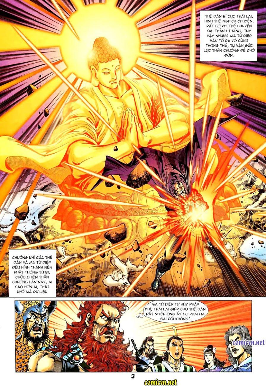 Thiên Tử Truyền Kỳ 4 - Đại Đường Uy Long chap 101 - Trang 3