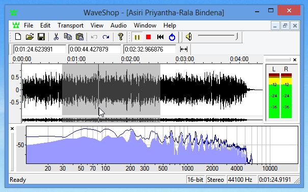 برنامج wave shop 2014 لتحرير ملفات الصوت اخر اصدار