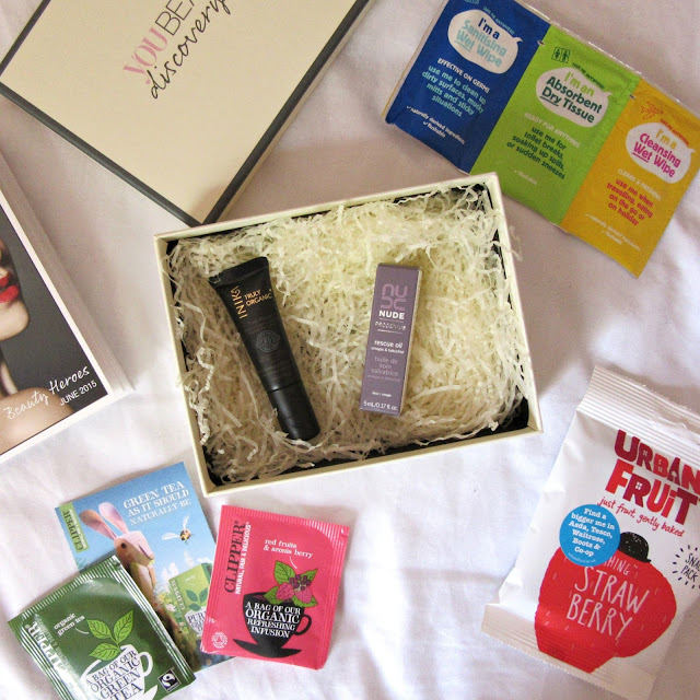 you beauty discovery box june