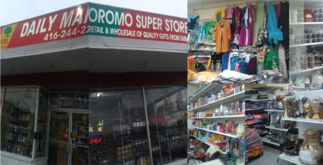 OROMO SUPER STORE. 1822 Weston Road, Toronto, Ontario
