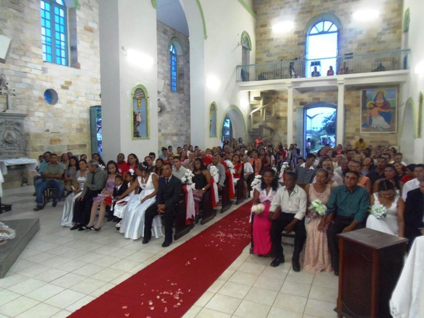 Matrimonio Igreja Catolica : Rosário em foco igreja católica realiza casamento