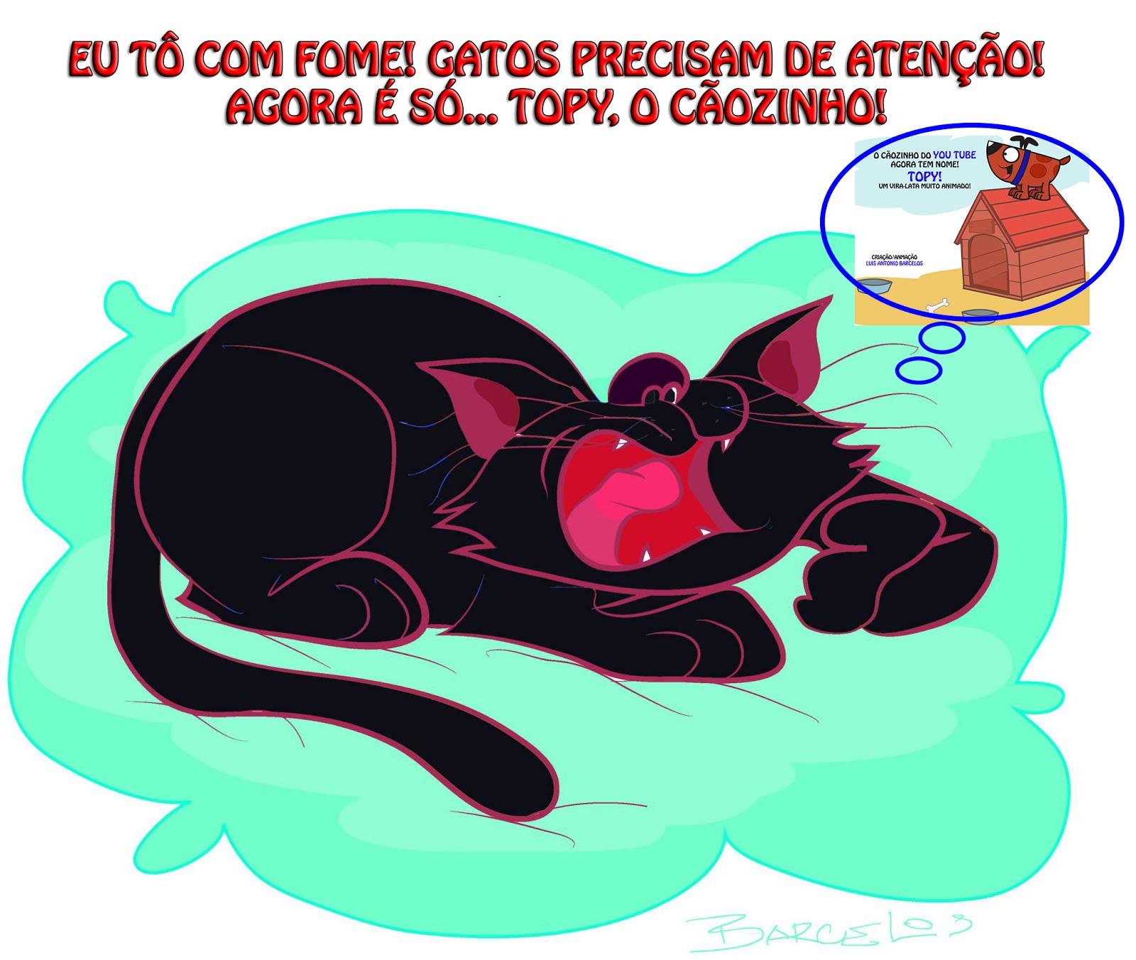 GATO & CÃO AMIGOS!