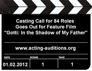 Auditions Casting Calls Gotti In the Shadow of My Father