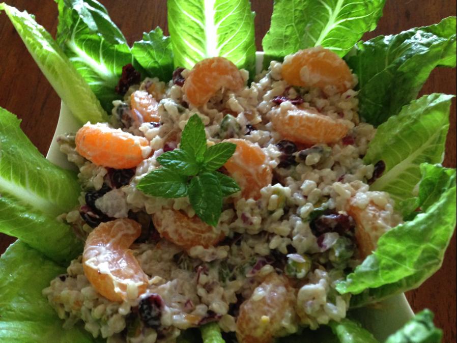 Mandarin Rice Salad