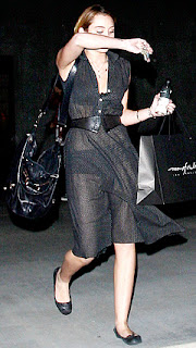 Miley Cyrus transparent dress