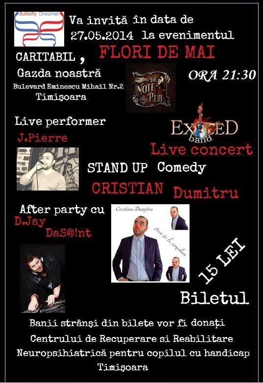 stand-up comedy timisoara marti 27 mai
