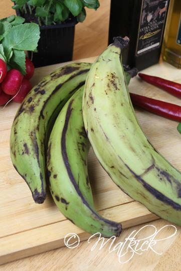mat med banan