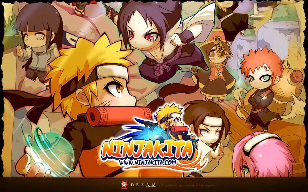 Pockie Ninja Wallpaper Art NinjaKita Poster Zeromin0