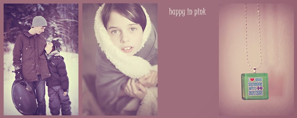 happy in pink