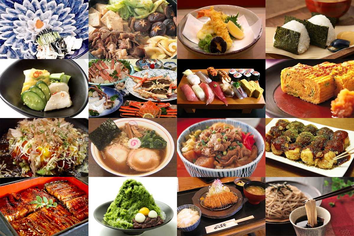 Popular dishes japan for Asian tokyo japanese cuisine