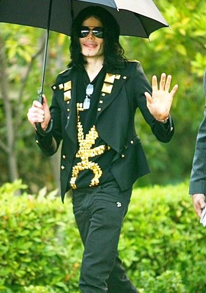 Michael Jackson Balmain Pants Black