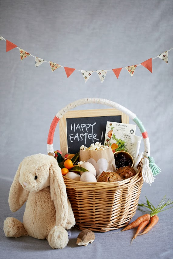a special easter gift basket to make