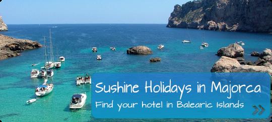 sunshine holidays in majorca, spain balearic islands